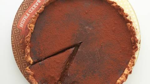Κλασική σοκολατόπιτα με τραγανό χειροποίητο φύλλο