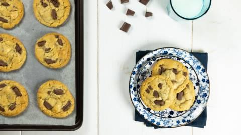 Μαλακά Cookies σοκολάτας