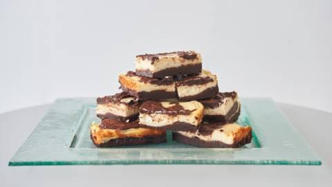 Brownies σοκολάτας με τυρί μασκαρπόνε