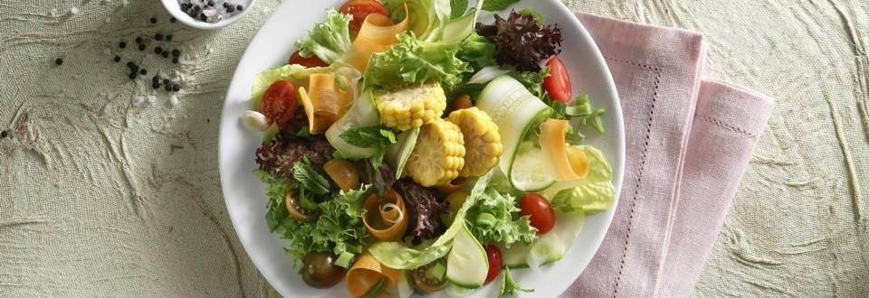 Σαλάτα με βινεγκρέτ ανανά