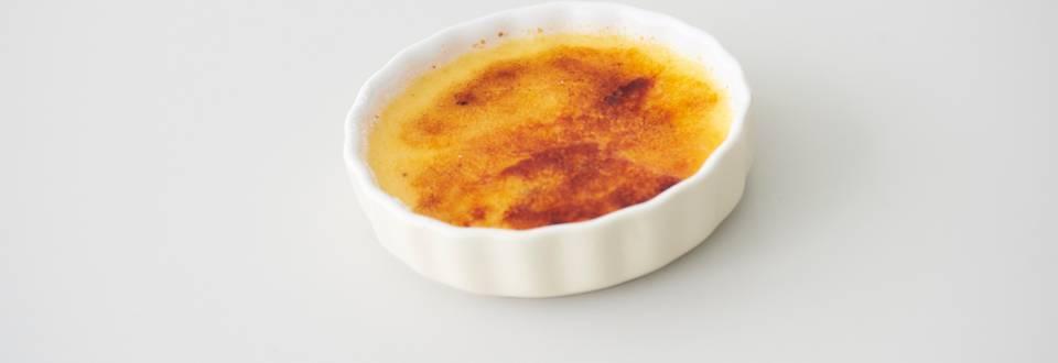 Κρέμ μπρουλέ βανίλιας (Creme Brûlée)
